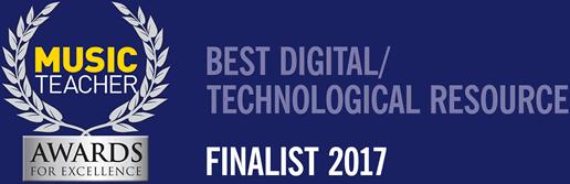 Music Teacher Awards For Excellence | Best Digital / Technological Resource Finalist 2017