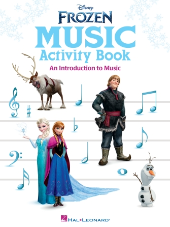 Frozen Music Activity Book for your Christmas Shopping List!
