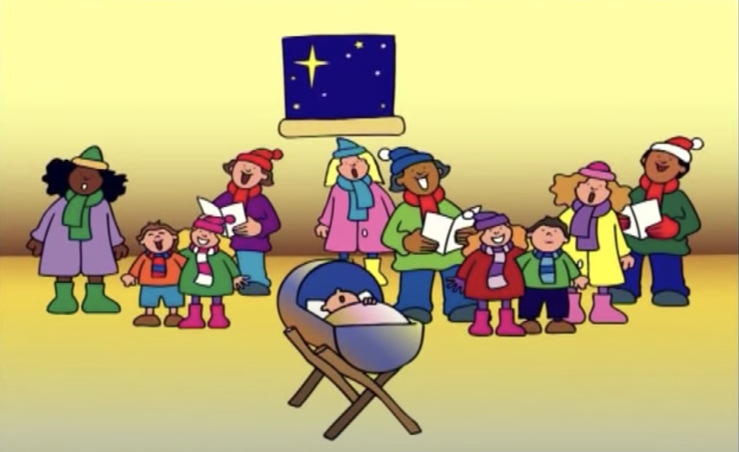 Digital Online Christmas Festival 2020 - Videos Especially for Children - Away in a Manger ANSWERS