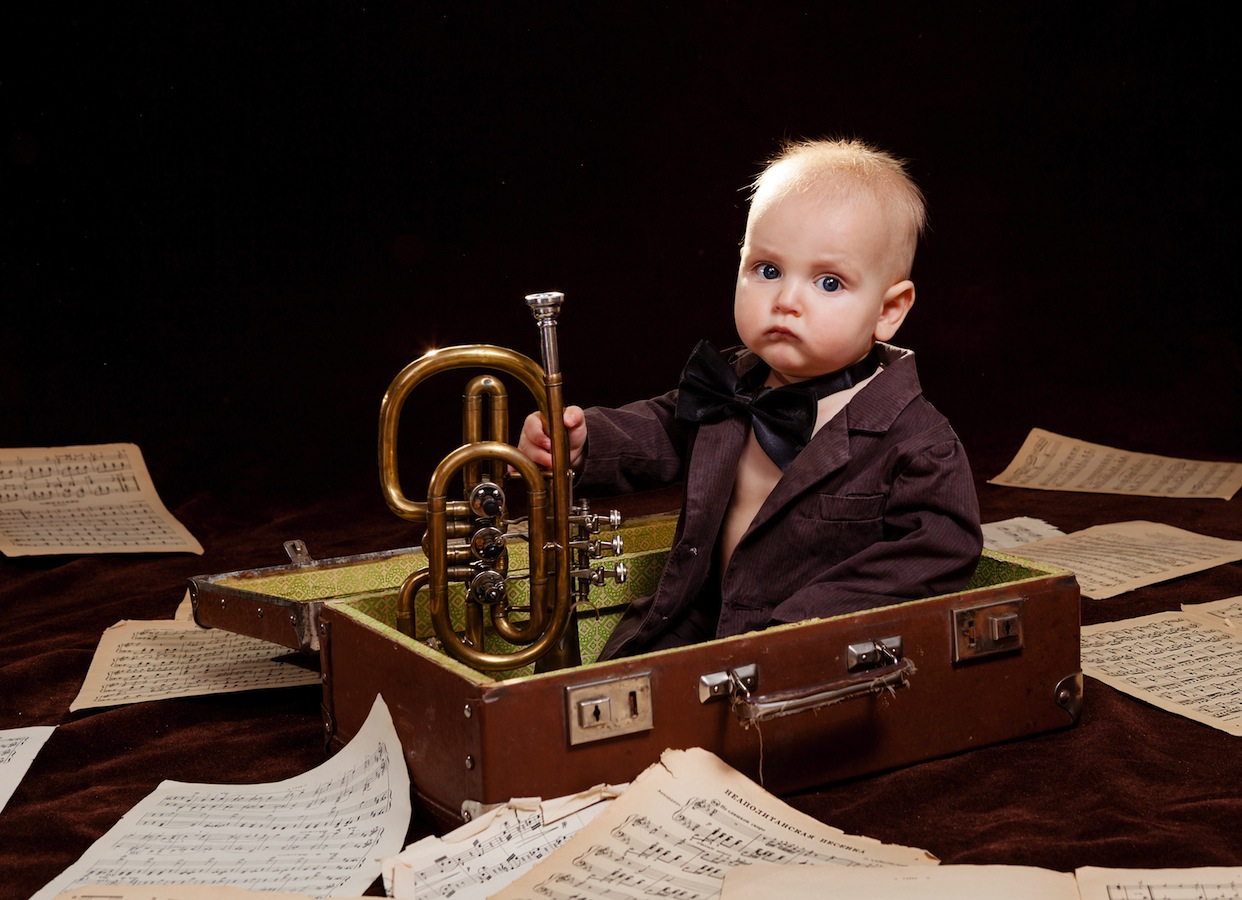 Repeated listening can help your child to learn music