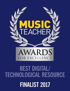 E-MusicMaestro is Music Teacher Award finalist 2017!