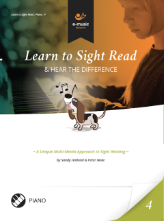 Learn to Sight Read: Piano Book 4